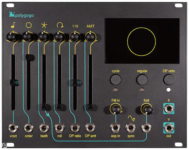 E-RM Polygogo: 32HP, +12V 110mA, -12V 15mA.
