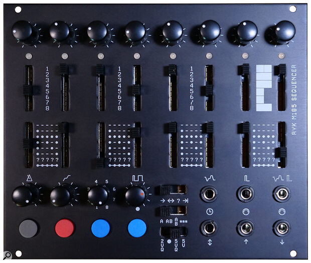 RYK Modular M185 Sequencer 30HP RYK Modular M185 Sequencer: 30HP, +12V 75mA, -12V 10mA.