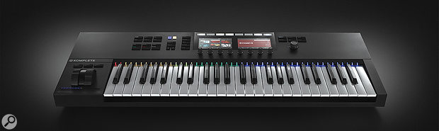 The Komplete Kontrol 2 is currently available in 49- and 61-note versions.