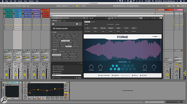 KKS 2 has more DAW Control and big improvements to sound-browsing in the Komplete Kontrol plug-in.