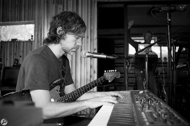 Keyboards and other electronic instruments feature more prominently on Sleep Well Beast than previous National albums.