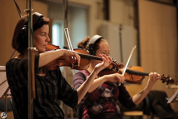 Players from Berlin's world‑famous orchestras were hand‑picked for the BST sampling sessions.