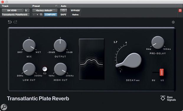 Rare Signals Transatlantic Plate Reverb