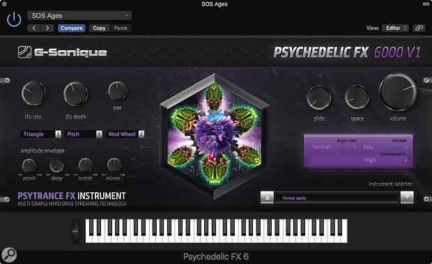 G-Sonique Psychedelic FX 6000 V1