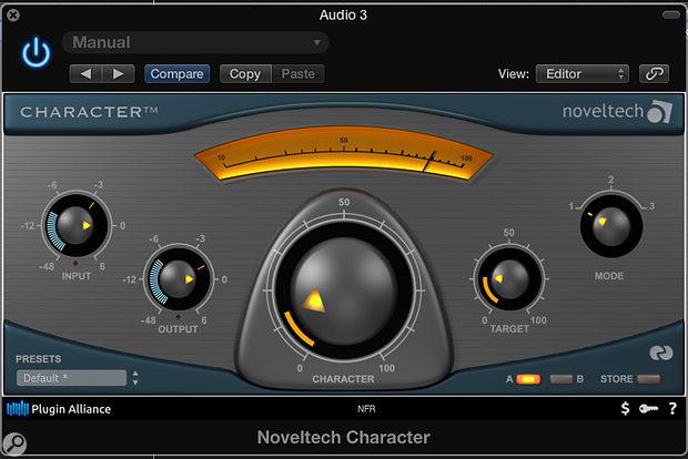 Noveltech Character plug-in.