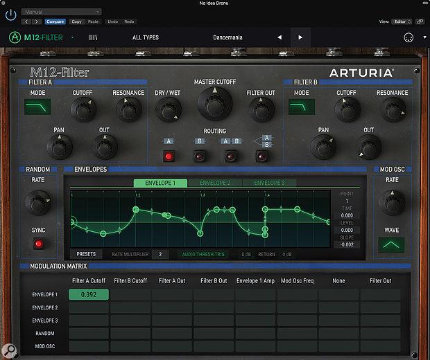Arturia M12-Filter.