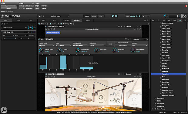 UVI's Falcon 2 was a welcome addition to the Pro Tools virtual instrument arsenal.