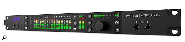 The MTRX Studio will be an attractive option for people who want mobile rigs yet still require Dolby Atmos monitoring.