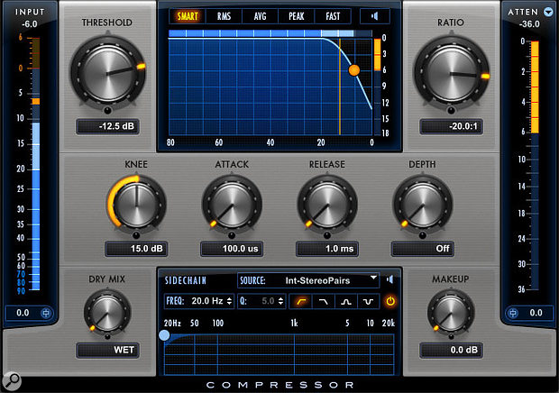 Negative compression: weird, but in the Pro Compressor, also useful!