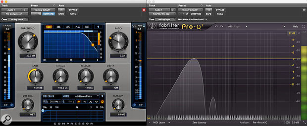 Using Avid Pro Compressor