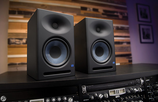Both models feature extensive tuning controls, including input trim, a high-pass filter for use with subwoofers, both mid-range and HF adjustment, and a three-way switch for selecting between half-space, quarter-space or free-standing operation.