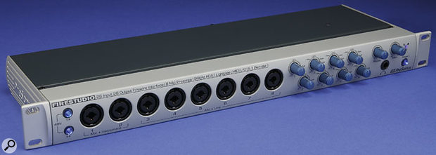 PreSonus Firestudio audio interface.