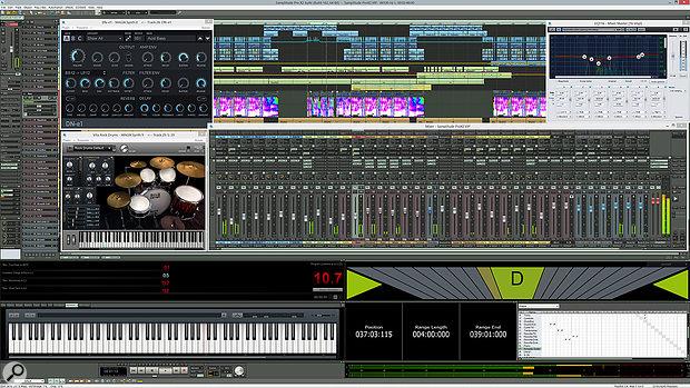 Magix Samplitude Pro X2
