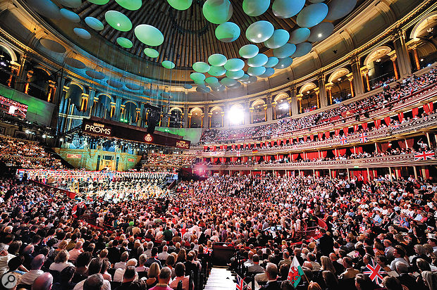 BBC Proms in London's Royal Albert Hall.