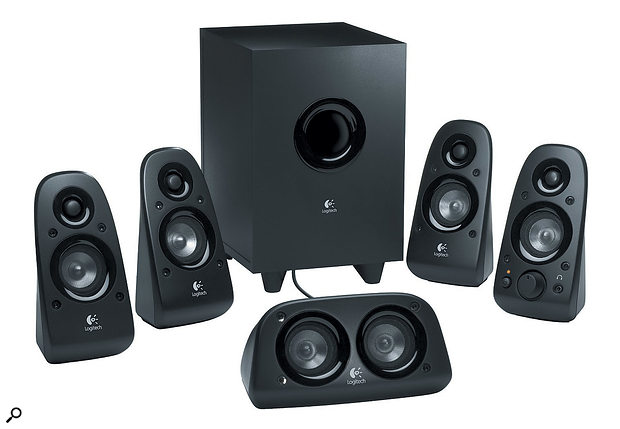 Cheap home-cinema surround systems like this might help you get a  feel for surround-sound mixing, but they're far from the best tool for the job.