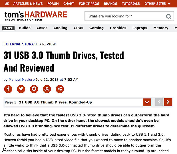 Some USB 3.0 pens are capable of much better performance than USB 2.0 ones, and can be used for sample instruments, but some models are better than others — check trusted sites such as Tom's Hardware for detailed comparisons.