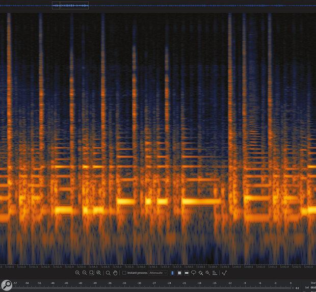 Screen 1: The problem bass part.