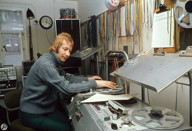 John Baker was another stalwart Radiophonic Workshop composer.