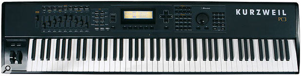 The new Kurzweil PC3 keyboard.