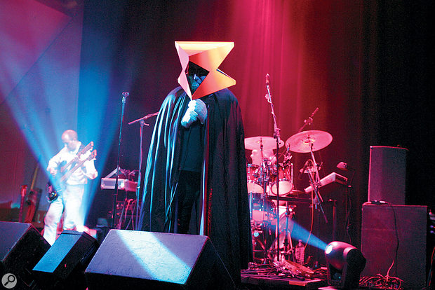 It's not early Genesis without some theatrics! ReGenesis performing 'Watcher Of The Skies'.
