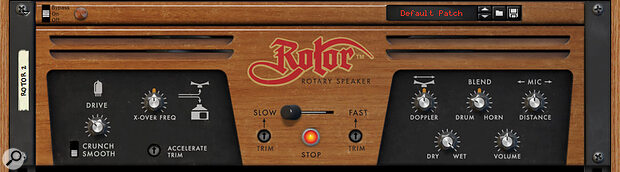 Rotor's valve stage sounds particularly sweet.