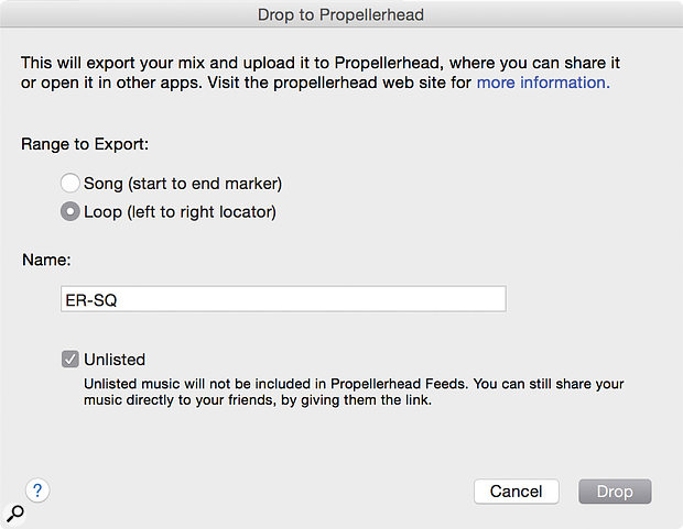 Posting Loops to Allihoopa is another way to track your projects.