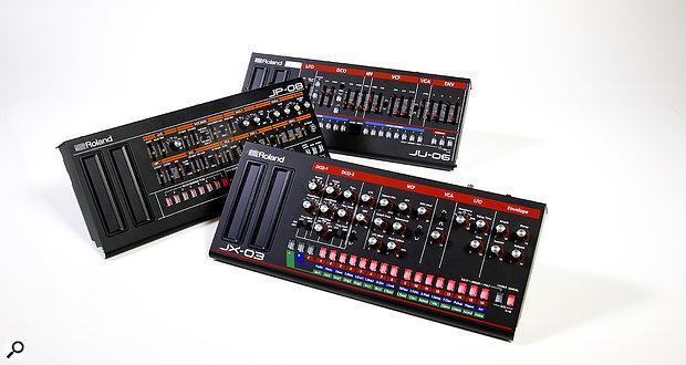 Roland Boutique JP08, JX03 & JU06