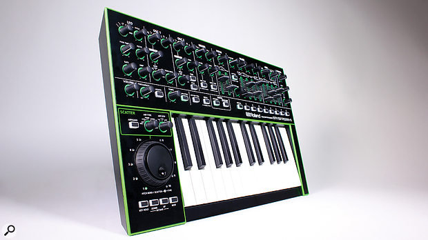 Roland System 1 Analogue Modelling Synthesizer.