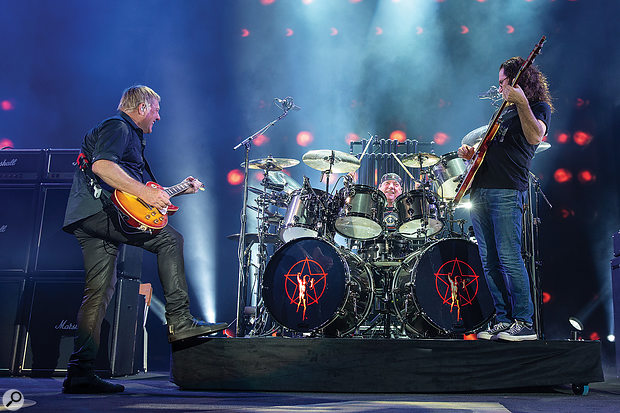 The R40 tour was billed as Rush's final major concert tour.
