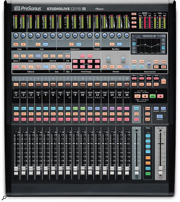 PreSonus CS18AI controller.
