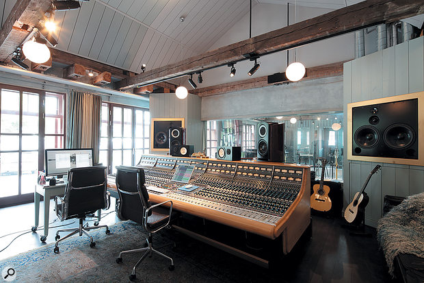 RMV's Neve desk was relocated only a  few kilometres from Max Martin's studio.