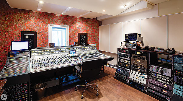 The Neve desk in Studio 1 was once located at New York's Hit Factory, and used to record John Lennon's last album Double Fantasy.