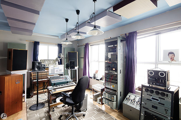 EVE's Radiophonic Room houses a  huge collection of gear from and inspired by the BBC's Radiophonic Workshop.