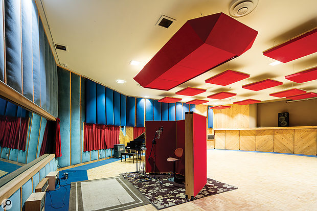 The huge live area in Studio A is one of 17 Hertz's chief attractions.