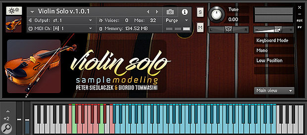 Sample Modeling Solo & Ensemble Strings