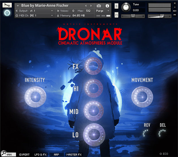 Gothic Instruments Dronar Cinematic Atmospheres Module