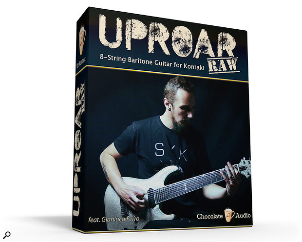 Chocolate Instruments Uproar RAW 8-String Baritone Guitar