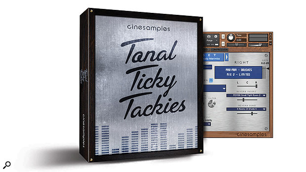 Cinesamples Tonal Ticky Tackies sample library.