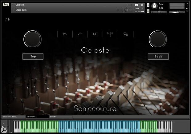 Soniccouture Celeste sample library/virtual instrument.