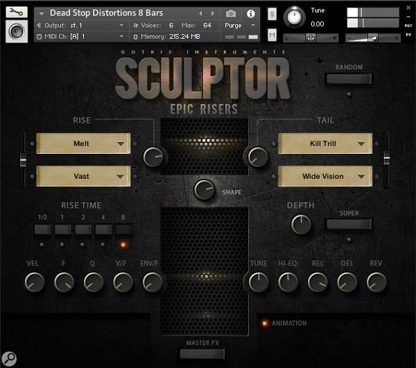Gothic Instruments Sculptor Epic Risers & Epic Drops