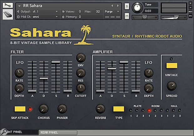 Rhythmic Robot Audio Sahara