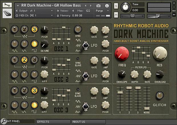 Rhythmic Robot Audio Dark Machine