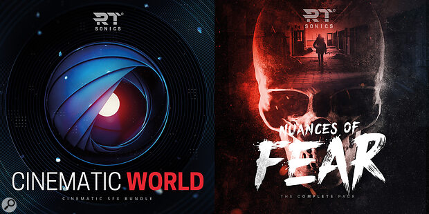RT Sonics' Cinematic Bundle combines Cinematic World and Nuances Of Fear libraries.