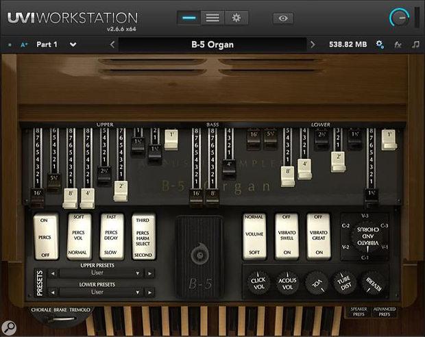 Acousticsamples B5 Organ