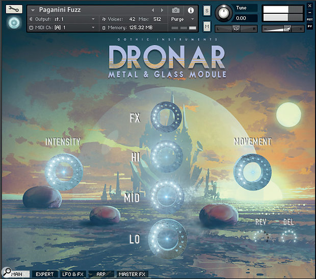 Gothic Instruments Dronar Metal & Glass Module