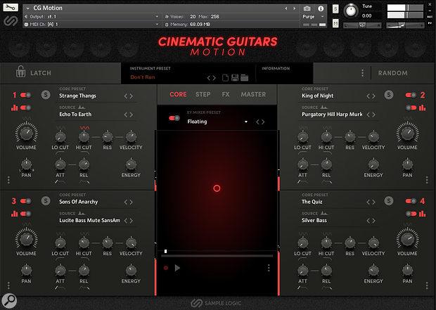 Sample Logic Cinematic Guitars Motion