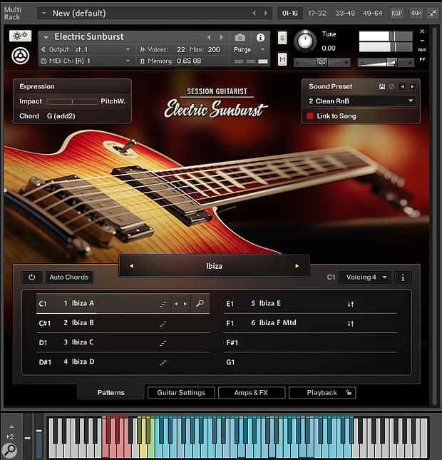 Native Instruments Electric Sunburst