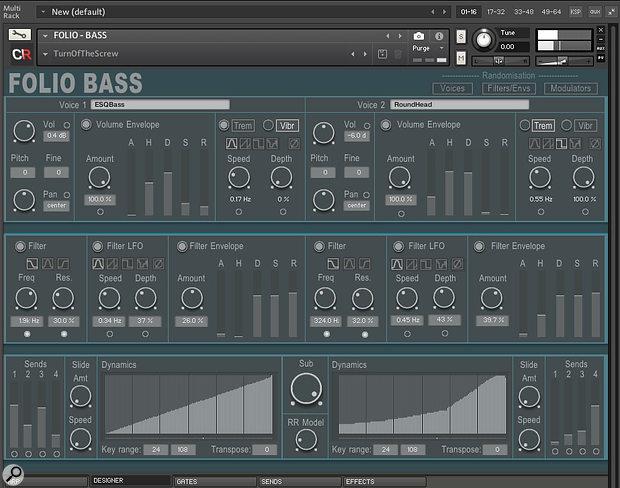 Channel Robot Folio Bass