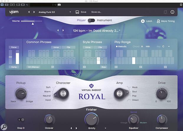 UJAM Virtual Bassist Royal.