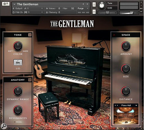 Native Instruments The Gentleman